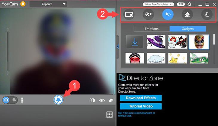 cách mở webcam trên laptop win 7