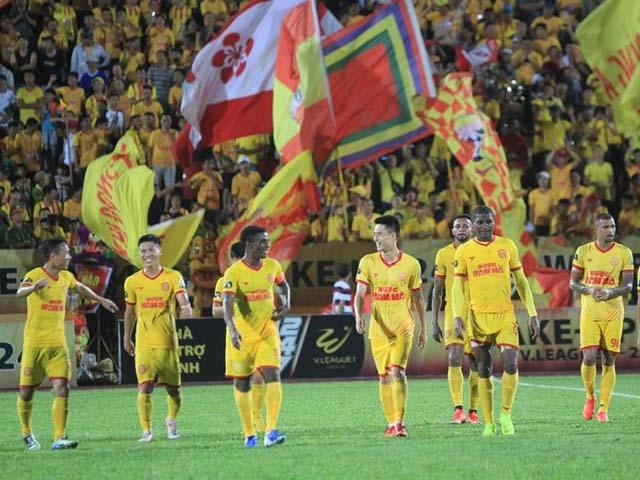 Đội bóng Dược Nam Hà Nam Định ở giải bóng đá vô địch quốc gia