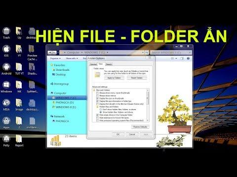 Bật mí cách mở file ẩn trên Windows 7, 8, 10 và cả USB