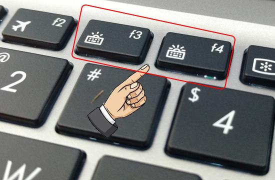 Cách bật đèn bàn phím Laptop ASUS