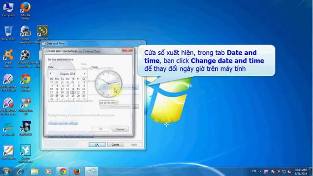 Hướng dẫn cách chỉnh giờ trên máy tính một cách chuẩn xác nhất